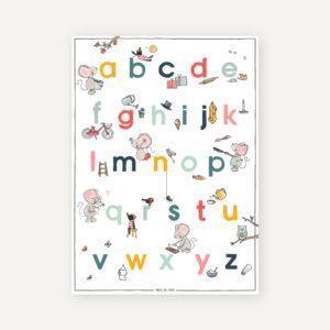 leesletters poster onderwijs